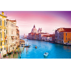 Buy Mimosifolia Puzzle Toys Children *d*lt Decompression Games 1000 Piece Jigsaw Home Decoration Scenery Water City Of Venice Mimosifolia Original