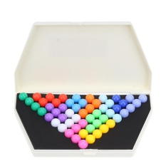 Pyramid Beads Plate Iq Pearl Logical Mind Game Puzzle Educational Toys - Intl By Welcomehome.