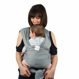 Buy Cheap Q Shop Premium Baby Wrap Carrier Original Natural Cotton Baby Slings Multiple Positions Soft And Lightweight Sling For Newborn Infantsfrom Birth(Grey) Intl
