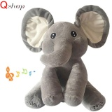 Price Comparisons Q Shop Stuffed Elephant Plush Toys Talking And Singing Elephant Plush Toy For Baby Kids Gifts Intl