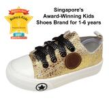 Shop For Raf Raf 3 6 Years Soft Sole Zipper Canvas Sneakers Kids Shoes Gold Or Silver