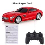 Lowest Price Rastar 72100 R C 1 24 Mercedes Benz Amg Gt Radio Remote Control Model Car Intl