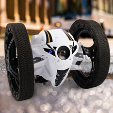 Rc Jumping Bounce Cars Shock Resistance 2 4Ghz Robot Car Rc Toys Kids Gifts Intl Lower Price