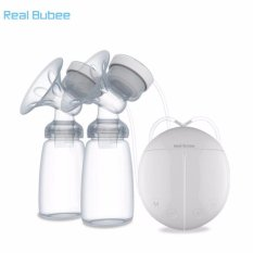 Compare Price Real Bubee Electric Automatic Dual Breast Pump With Bpa Free Bottles Intl Real Bubee On China