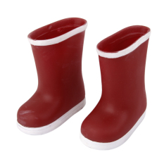 Ris Fashion Red Rain Boots For 18A€ American G*rl Doll Export Price