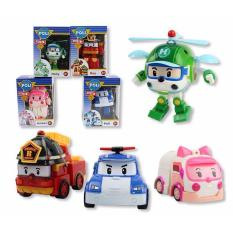 Robocar Poli 4 In 1 Transformable Vehicles Set Robocar Poli 4 In 1 Transformable Vehicles Set In Stock