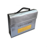 Sale Roortour Large Rc Lipo Safety Bag Lipo Guard Bag For Charging Silver Intl Louis Will On China