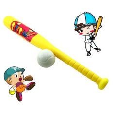 Rorychen 2-6 Year Old Kindergarten Sports Plastic Baseball Single Baseball Bat Childrens Toys - Intl By Excellent Trading.