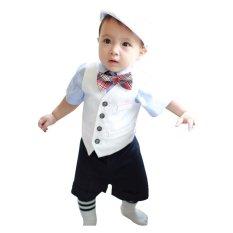 Price Rorychen Baby 4Pcs Suit Shirt Waistcoat Shorts Bow Tie Export Rorychen Original