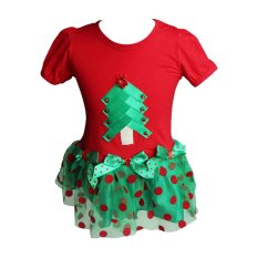 Discount Rorychen Christmas Trees Printed Baby Dress Export Rorychen China