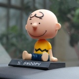 Buy Rorychen Snoopy Charlie Brown Shaking His Head Doll Car Ornaments Gift Car Decoration Intl On China
