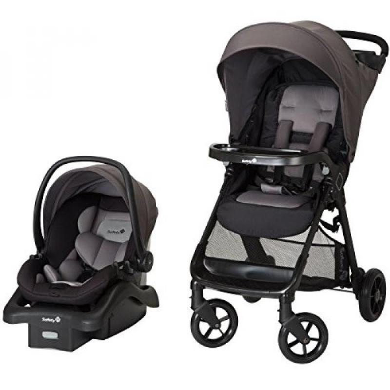 Safety 1st Smooth Ride Travel System with OnBoard 35 LT Infant Car Seat, Monument 2 Singapore
