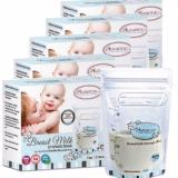 Buy Sale 125Pcs 7Oz 210Ml Autumnz Breast Milk Breastmilk Storage Bags Free 15 Pcs On Singapore