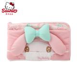 Review Sanrio New My Melody Makeup Bag Girls Cute Multi Layer Cosmetic Bag China