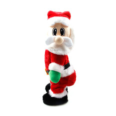 Compare Prices For Santa Claus Toys Twisted Hip Singing Electric Toys Christmas Decorations
