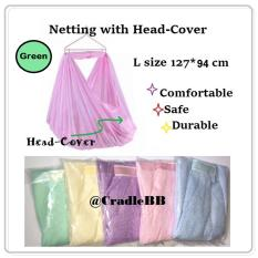 Compare Sarong Yaolan Cradle Spring Cot Net Green L Size