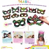 Buy Scratch Art Mask Kit Pack Of 5 Coozy Corner Original