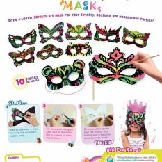 Scratch Art Mask Kit Pack Of 5 Lowest Price