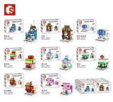 Sembo Sd6608 6615 Mini Model Assembled Building Blocks Lowest Price