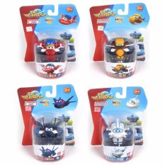 Set 4Pcs Super Wings Mini Season 2 New Characters Transforming Planes Toy Doodoo Todd Pigu Flip Ace Chace Saetbeol Astra Intl Best Buy