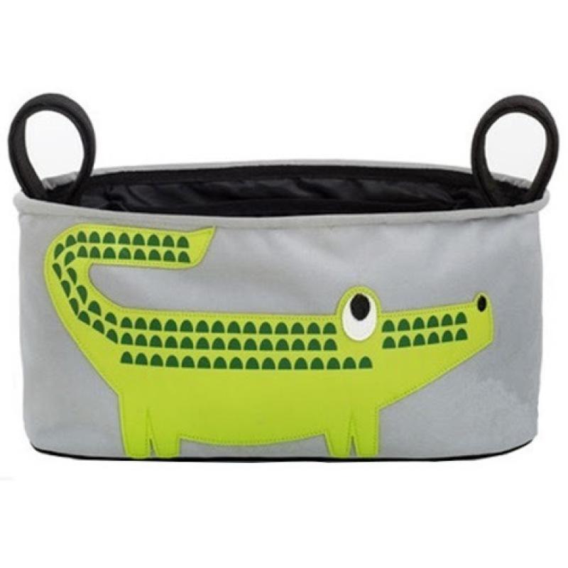 Shoppy  Stroller Organizer Basket Bag (Crocodile Pattern) Singapore