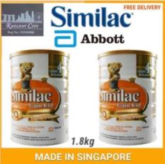 Low Price Similac Milk Powder Gain Iq Kid Stage 4 1 8Kg X 2 Tins Made In Singapore For Malaysia