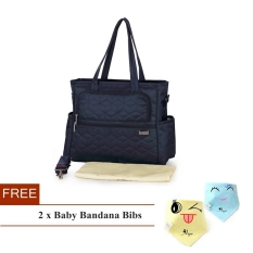 Sale Simplicity Multi Function Baby Diaper Bag Mummy Bag Navy Blue Insular Branded