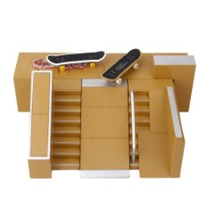 Skate Park Skatepark Ramp Parts For Tech Deck Finger Board C Export For Sale