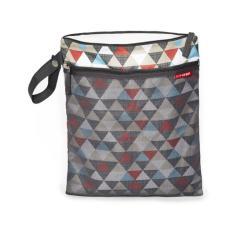 Skip Hop Grab Go Wet Dry Bag Triangles Cheap