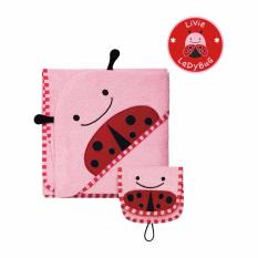 Skip Hop Zoo Hooded Towel - Ladybug By Skip Hop Official Store.