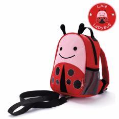 Best Deal Skip Hop Zoo Little Kid Safety Harness Ladybug