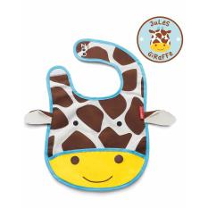 Skip Hop Zoo Tuck-Away Bib - Giraffe By Skip Hop Official Store.