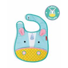 Skip Hop Zoo Tuck-Away Bib - Unicorn By Skip Hop Official Store.