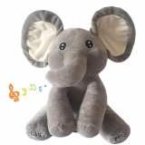 Discount Slgol Stuffed Elephant Plush Toys Talking And Singing Elephant Plush Toy For Baby Kids Gifts Intl