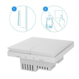 Buy Smart Remote App Control Double Key Wall Switch Zigbee Connection Wireless Tool Intl Cheap China