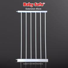 Cheapest Smart System Baby Safety Barrier Gate Extension 45Cm