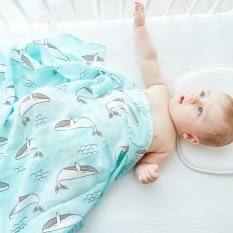 Buy Soft Baby Swaddle Blanket 70?mboo 30 Cotton Infant Wrap 120X120Cm Multifunction Blanket Intl Cheap China