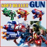Discount Soft Bullet Nerf Gun Style Toy Avengers Series Cap America Genconnect Pte Ltd Singapore