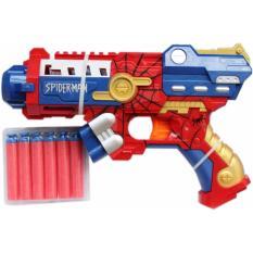 Review Soft Bullet Nerf Gun Style Toy Gun Avengers Series Spiderman Genconnect Pte Ltd