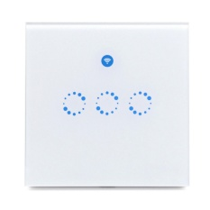 Sonoff T1 3 Gang Wifi And Rf 86 Type Uk Wall Touch Light Switch For Smart Home Intl Promo Code