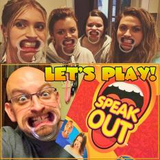 Discount Speak Out Game Funny Mouthpiece Board Challenge Party Game Hasbro Singapore