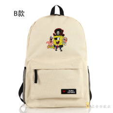 Spongebob Squarepants Cartoon For Men And Women Backpack Sch**L Bag Promo Code