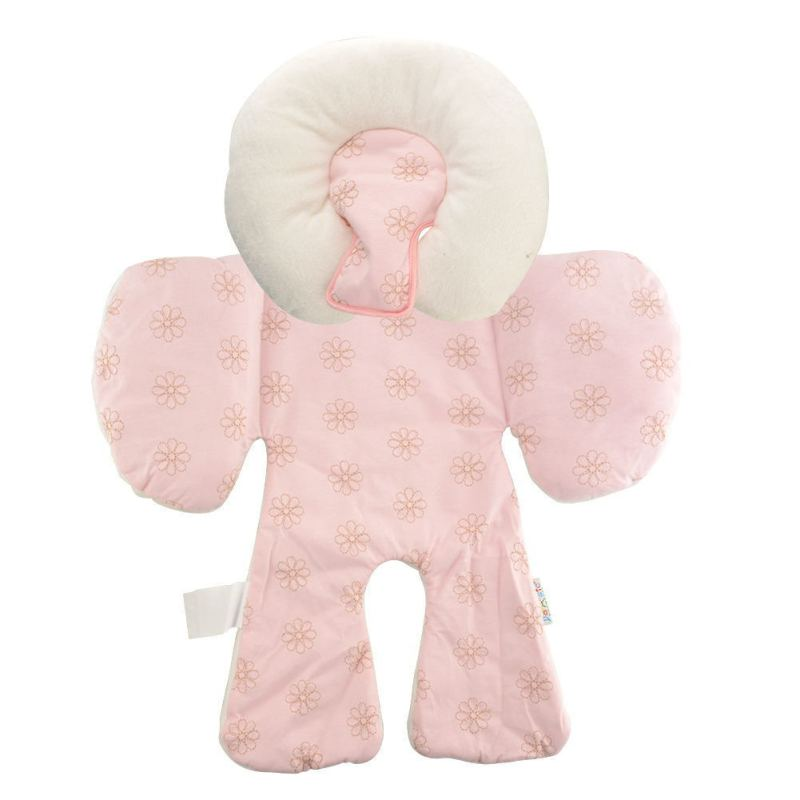 Stroller Two Sided Seat Pad Liner (Pink) - Intl Singapore