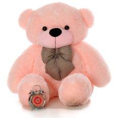 Stuffed Animal Teddy Bear Plush Soft Toy 120Cm Huge Soft Toy Pink Oem Cheap On China