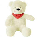 Where Can You Buy Stuffed Animal Teddy Bear Sleepy Bear Plush Soft Toy 100Cm Huge Soft Toy White