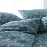 Floral Print 180X200X230 220 X240 Cotton One Piece Summer Quilt Cover Cotton Quilt Cover Shopping