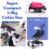 Super Compact Topbi Bibi Love Cabin Size Stroller Pram 5 8Kg Light Blue Sale