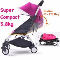 Super Compact Cabin Size Topbi Bibi Love Stroller Pram 5 8Kg Pink Sale