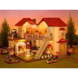 Deals For Sylvanian Families City House With Lights