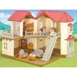 Sylvanian Families City House With Lights Gift Set Sylvanian Families Discount
